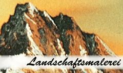 Landschaftsmalerei Geschenk Set – Bob Ross - Eine Nahaufnahme von einem Schild - Ohrring
