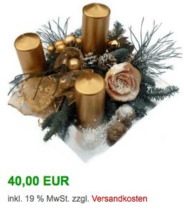 Kerzenhalter Adventskranz kaufen - Weihnachtsverzierung
