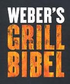 Weber Grillbibel + Grillkoffer, ein tolles Männergeschenk - Eine Nahaufnahme von einem Schild - Grafikdesign