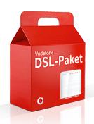 DSL zu Weihnachten verschenken - Eine Nahaufnahme von einer Box - Produktdesign