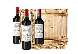 Weinkiste als Geschenk für Männer - Eine Flasche Wein - Dessertwein