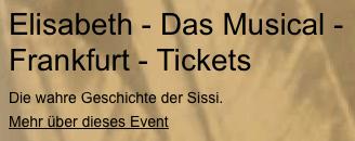 Tickets für Elisabeth – Das Musical in Frankfurt, Bremen, Essen u.a. - Handschrift