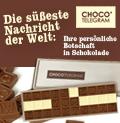 Weihnachtsgrup aus Schokolade