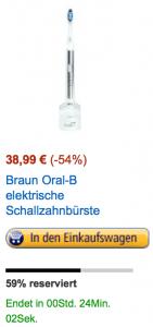 Oral B mit über 50% Rabatt