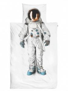 Bettwäsche mit Astronaut Aufdruck
