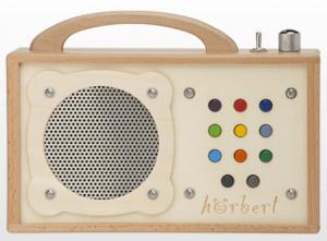 Hörber MP3 Spieler aus Holz