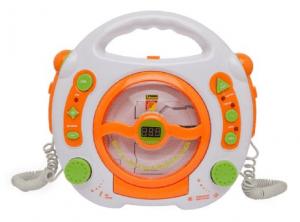 Idena CD und MP3 Player für Kinder mit Mikrofonen