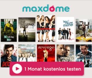 Maxdome: Account sofort aktivieren