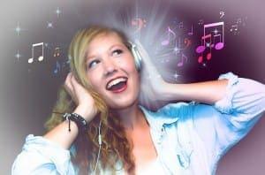 Musik auf den Ohren