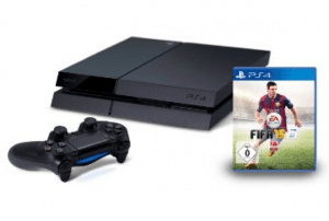 Playstation 4 Bundle Angebot mit Fifa 15