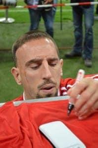 Bayern München Fans kennen ihn: Frank Ribery