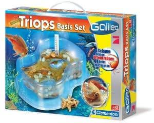 Clementoni – Galileo Triops Basis Set - Eine Nahaufnahme von Lebensmitteln - Galileo original TRIOPS-maxi Toys/Spielzeug