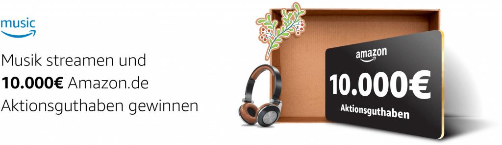 Amazon Gewinnspiel zu Weihnachten
