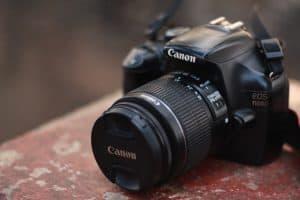 Spiegelreflexkamera von Canon