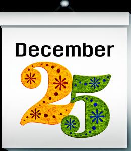 Ein Dezember Kalenderblatt