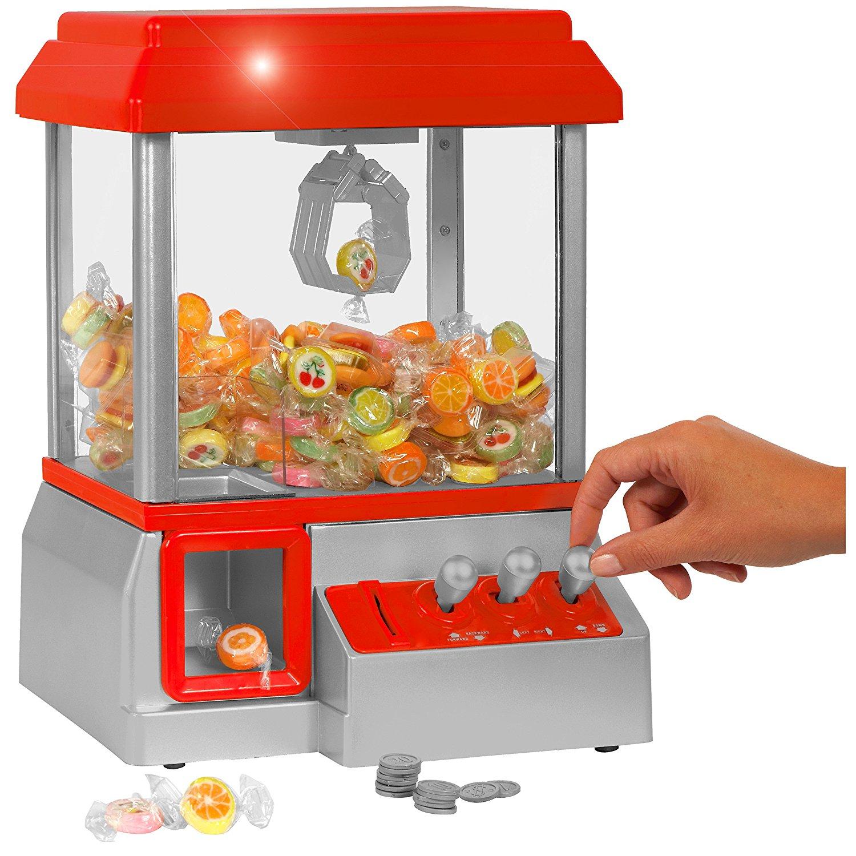 Kirmes für zu Hause - Der Candy Grabber Süßigkeiten Automat